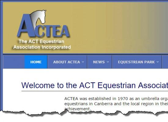 ACT Equestrian Association