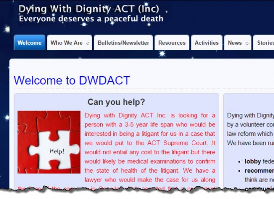 Dying With Dignity ACT