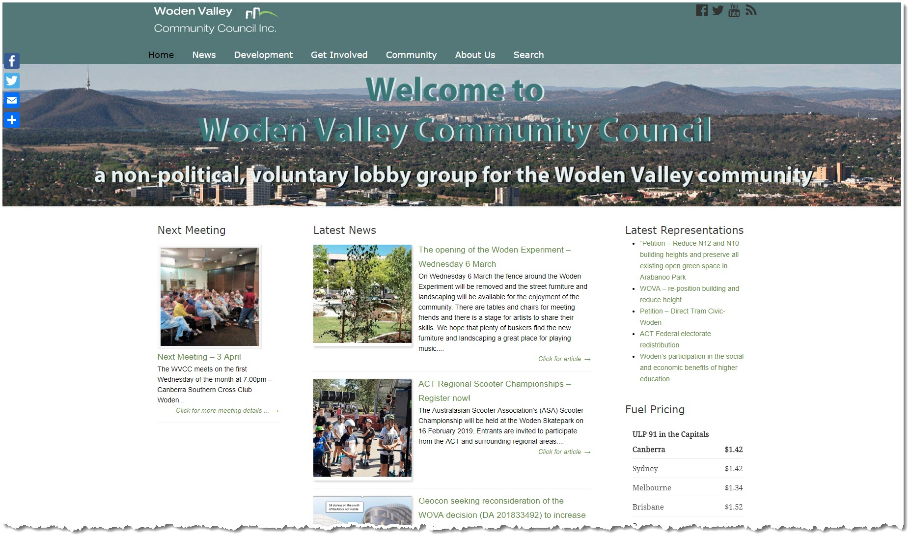 Woden Valley Community Council